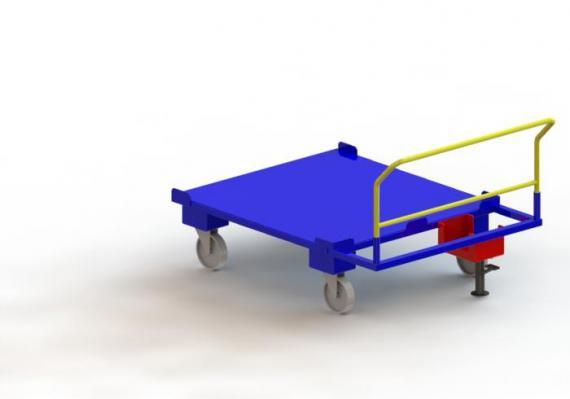 Vozík pro KLT přepravky
