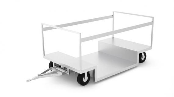 Tažný vozík za tahač